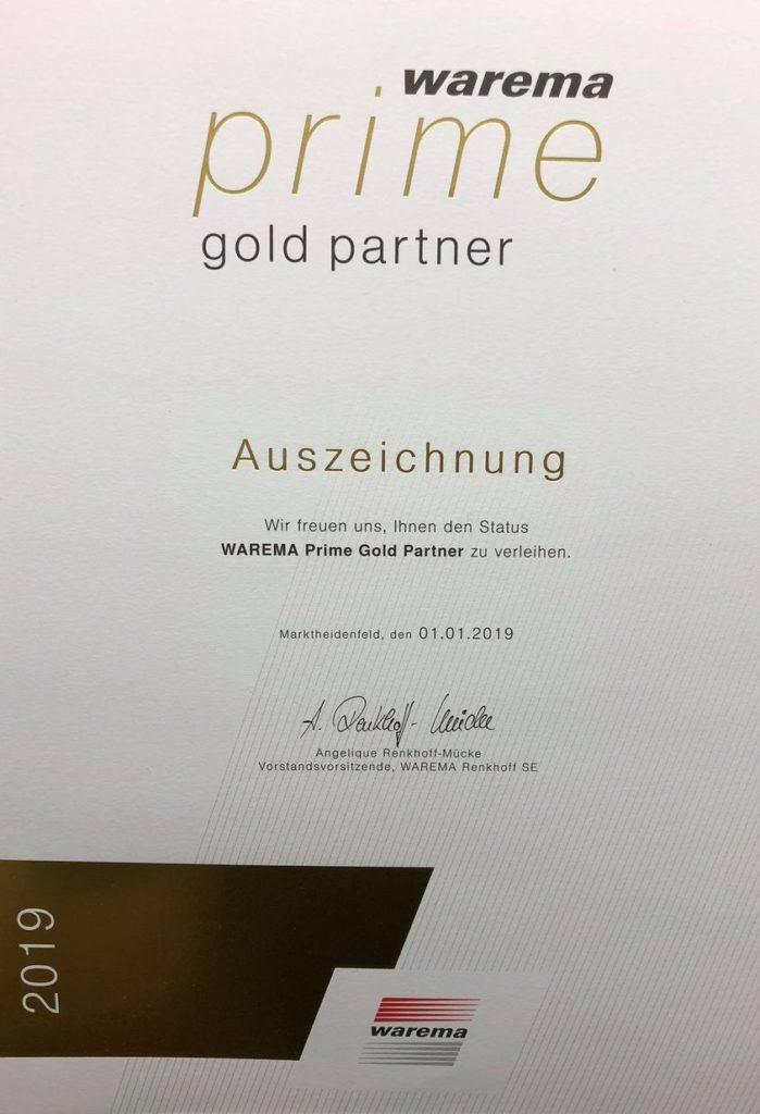 Warema Prime Partner 2010