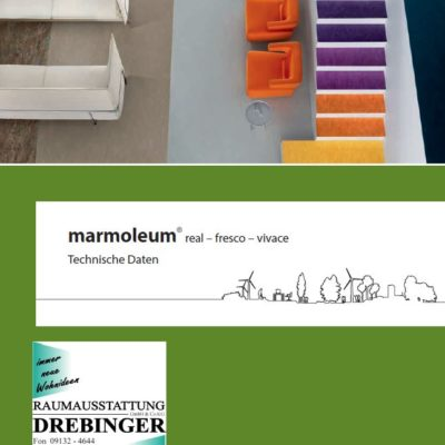 Marmoleum Technik